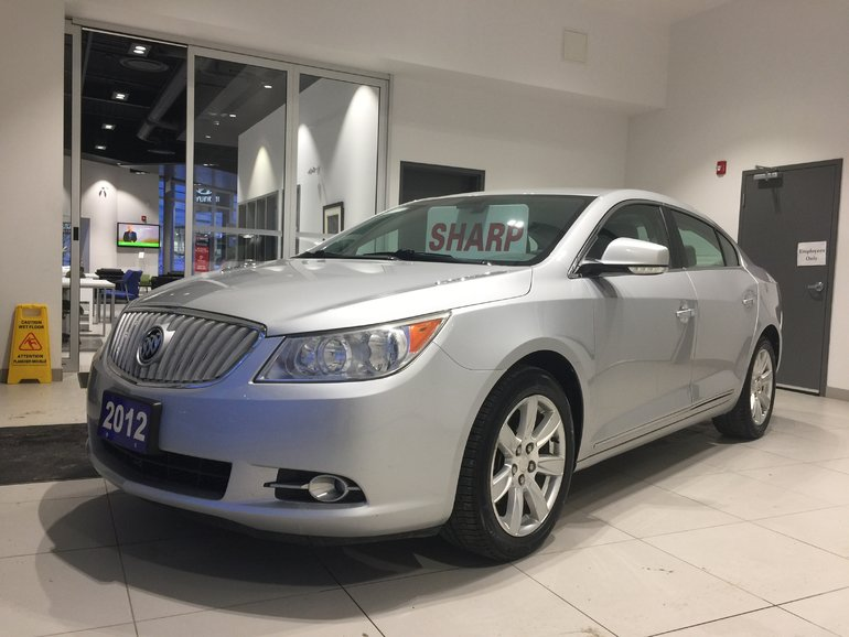 2012 Buick LaCrosse W/1SD - 1-OWNER! NON-SMOKER! IMMACULATE!