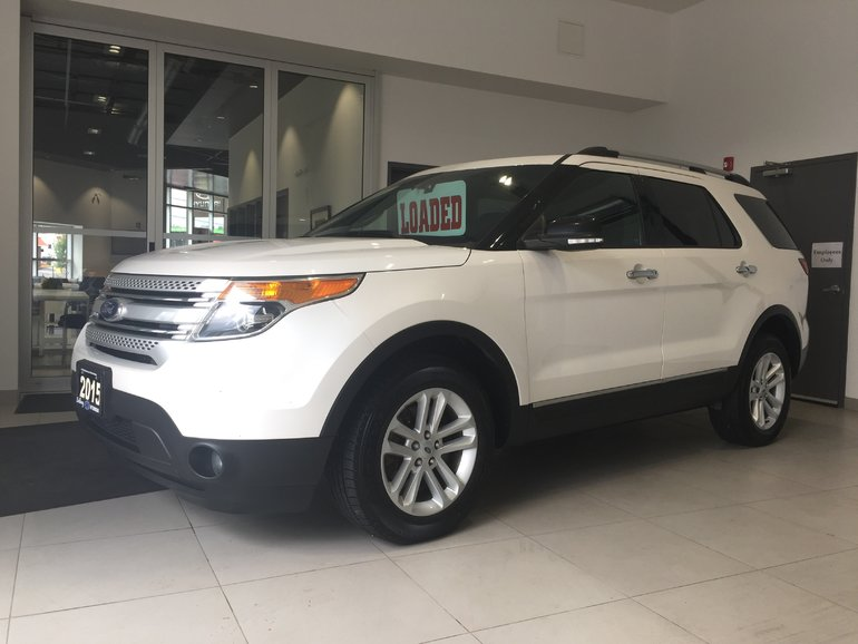 2015 Ford Explorer XLT AWD - HEATED LEATHER! 290 HP!