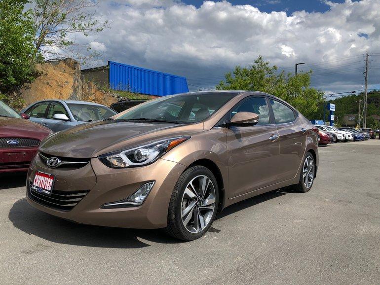 2015 Hyundai Elantra LIMITED w/NAVIGATION - FULLY LOADED!
