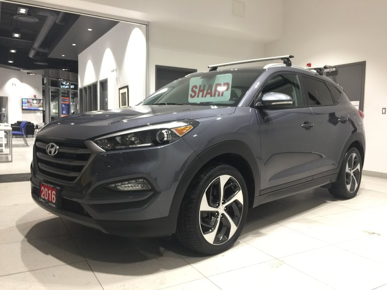 2016 Hyundai Tucson 1.6T PREMIUM AWD - HEATED SEATS & STEERING WHEEL!