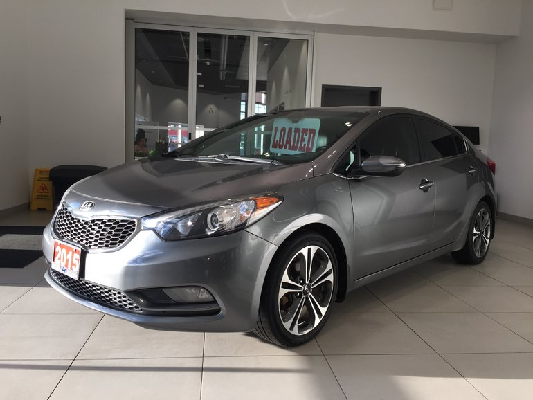 2015 Kia Forte SX - HEATED & VENTILATED SEATS!