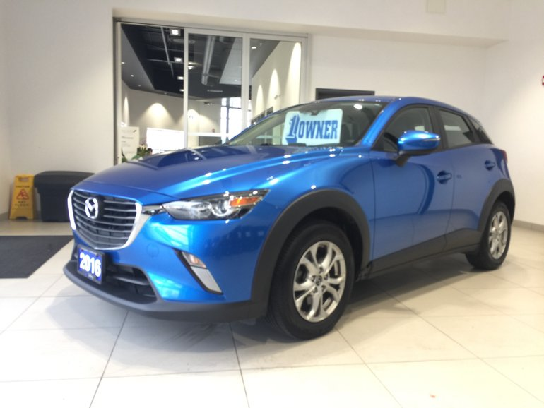 2016 Mazda CX-3 GS - HEATED LEATHER! MOONROOF!
