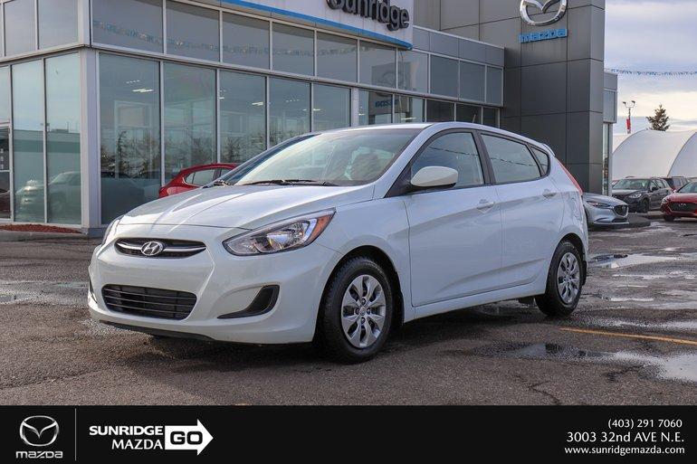 Sunridge Mazda | Pre-owned 2017 Hyundai Accent GL in Calgary on