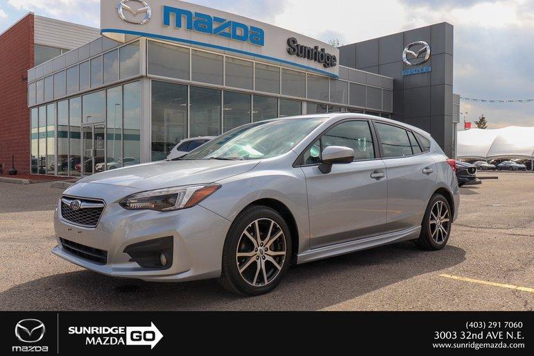 2017 Subaru Impreza 2.0 sport package
