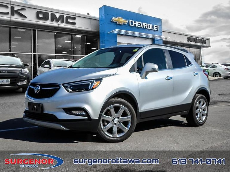Used 2018 Buick Encore Essence Certified Heated Seats 174 B W For Sale 25888 0