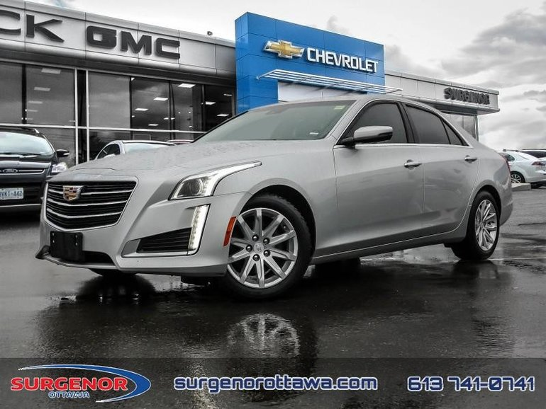 2015 Cadillac CTS Sedan AWD 2.0L Turbo - Luxury  - $163.56 B/W