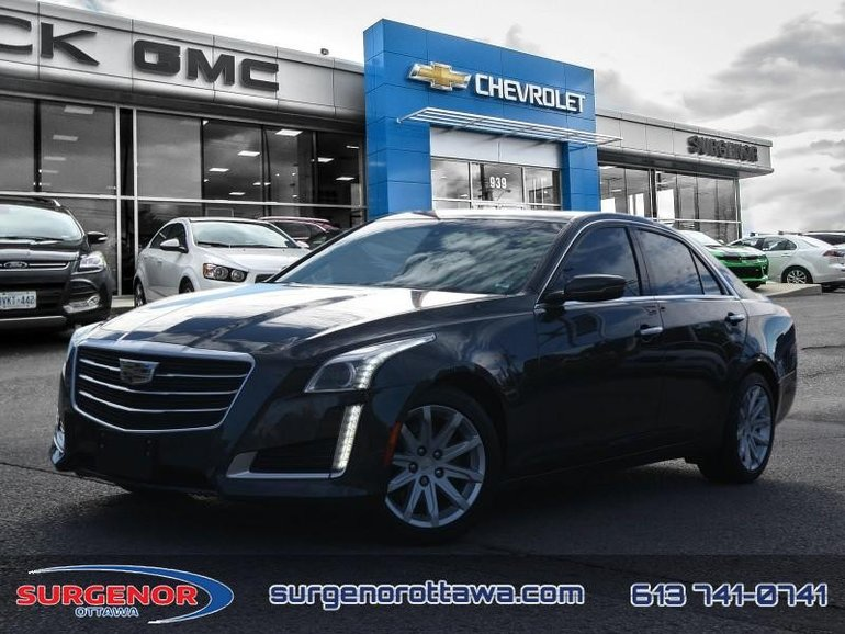 2016 Cadillac CTS 2.0L  - Certified - Leather Seats - $218.67 B/W