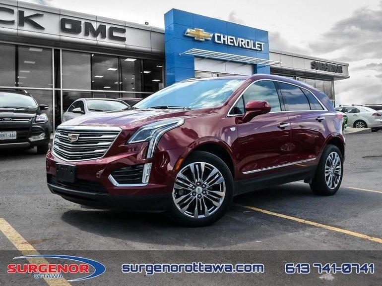 Cadillac XT5 Premium Luxury  - Certified - $258 B/W 2017