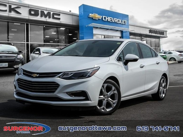 Chevrolet Cruze Premier  - Certified - Leather Seats 2018