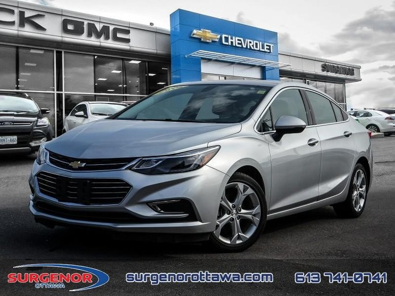 2018 Chevrolet Cruze Premier  - Leather Seats - $126.27 B/W