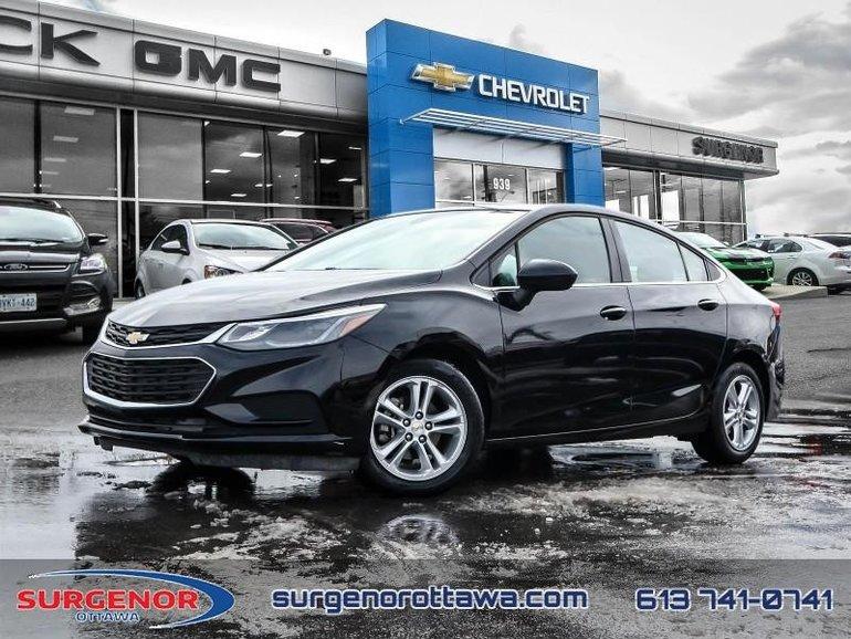 2018 Chevrolet Cruze LT  - Bluetooth -  Heated Seats - $113.56 B/W