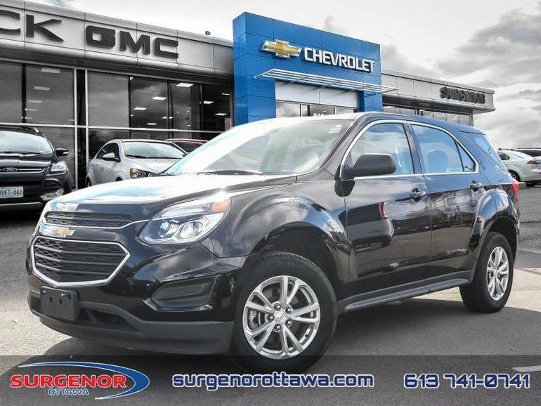 2017 Chevrolet Equinox LS  - Bluetooth -  OnStar - $155.70 B/W