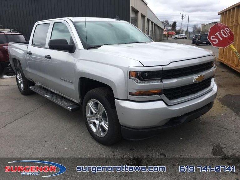 2018 Chevrolet Silverado 1500 Custom  - $291.83 B/W