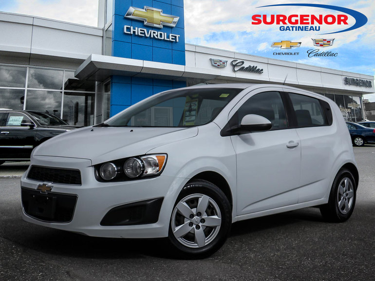 Used 2014 Chevrolet Sonic Ls For Sale 58870 Surgenor Gatineau
