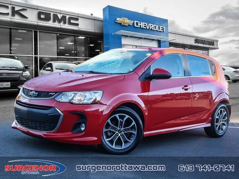 2018 Chevrolet Sonic LT  - Certified - Bluetooth - $110.21 B/W