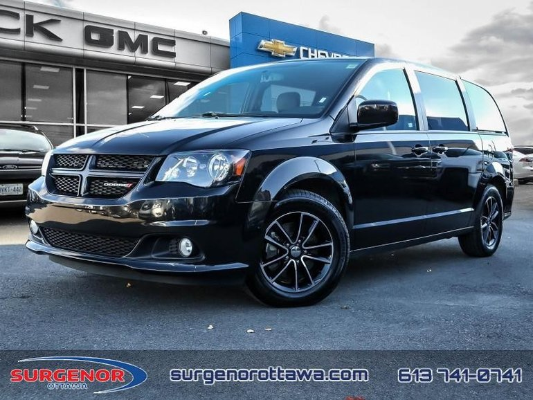 2018 Dodge Grand Caravan GT  - Bluetooth -  Leather Seats - $167.07 B/W