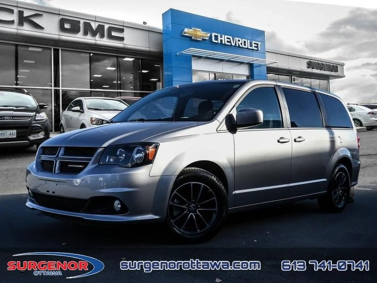 2018 Dodge Grand Caravan GT  - Bluetooth -  Leather Seats - $177.77 B/W