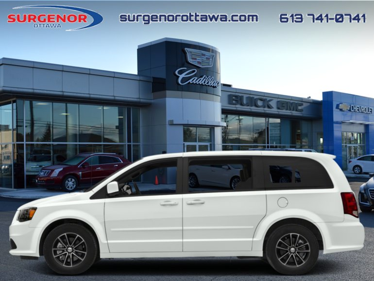 Dodge Grand Caravan GT  - Chrome Exterior - $194 B/W 2019