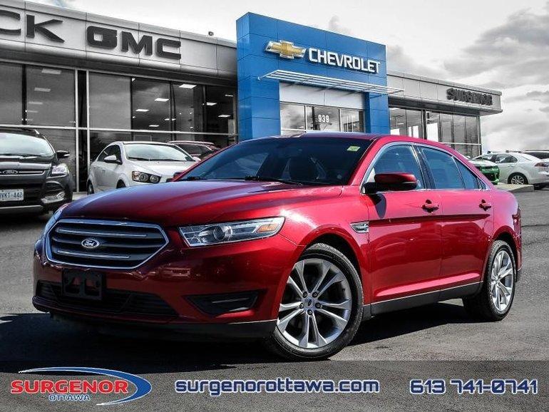 Ford Taurus SEL 4D Sedan  - $83.27 B/W 2013