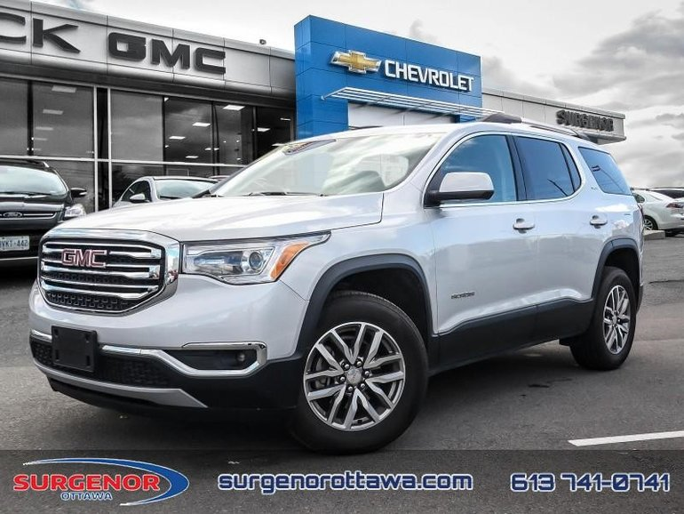 2018 GMC Acadia SLE  -  Bluetooth -  Keyless Entry - $217.91 B/W