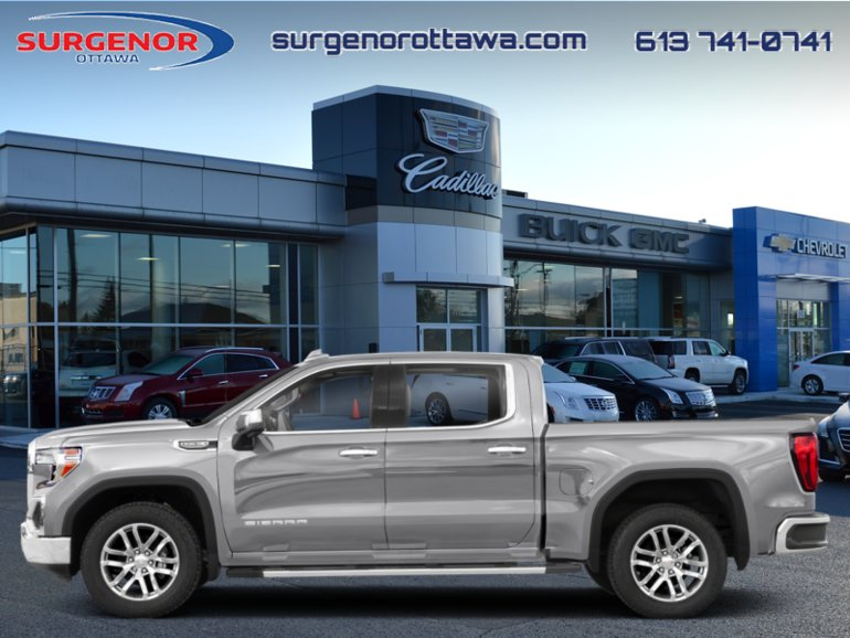 2019 GMC Sierra 1500 SLE  - Assist Steps - $347 B/W
