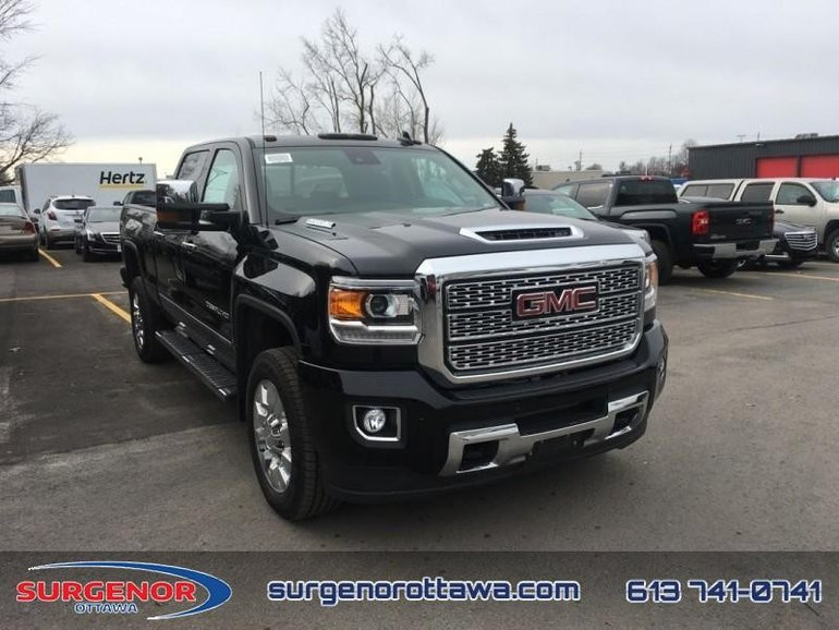 New 2018 GMC Sierra 2500HD Denali - Sunroof for Sale - $87575.0 | Surgenor Ottawa