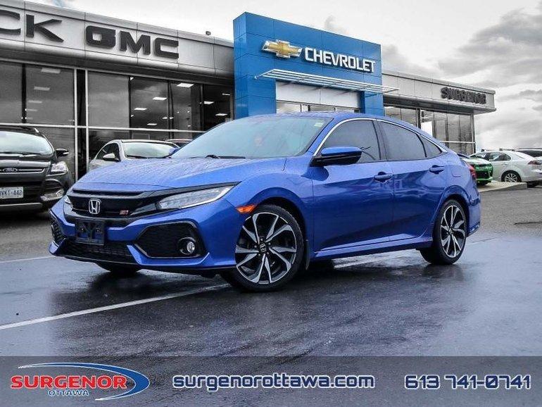Used 2017 Honda Civic Sedan Si - Navigation - Bluetooth