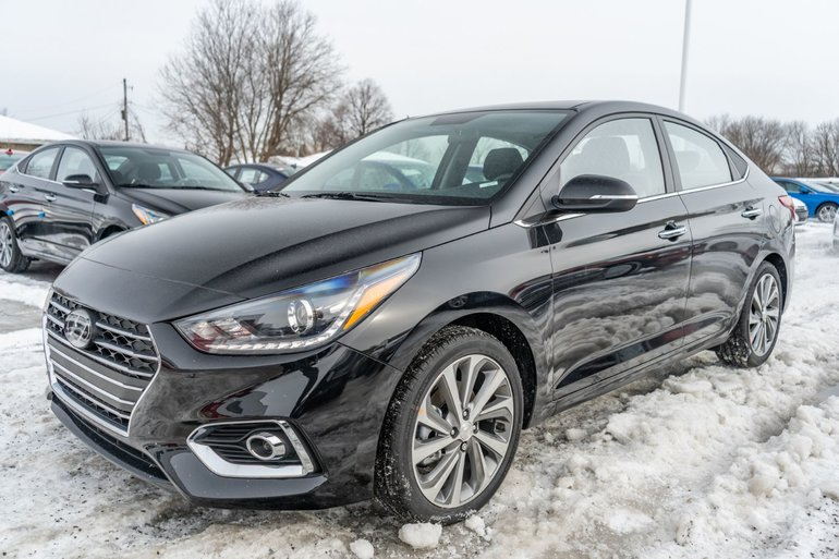 2019 Hyundai Accent ULTIMATE