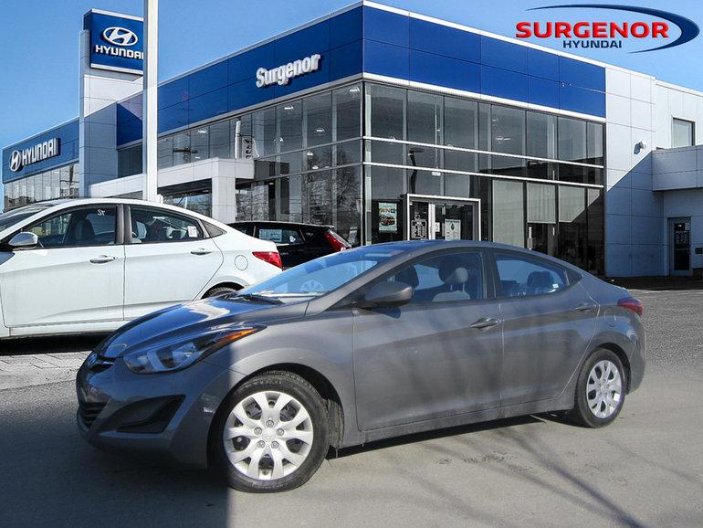 Hyundai Elantra GL 2014