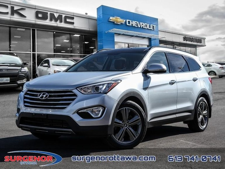 Hyundai Santa Fe 3.3L AWD Limited Saddle Interior  - $163.26 B/W 2013