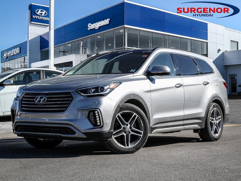 Hyundai Santa Fe Limited 2017