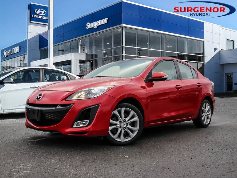 Used 2010 Mazda Mazda3 Gt For Sale 8995 0 Surgenor Hyundai