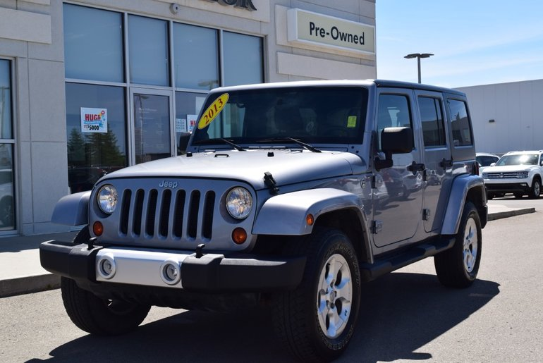 2013 Jeep Wrangler Unlimited Sahara 4D Utility 4WD