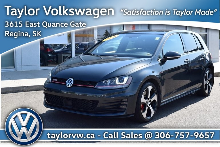 2015 Volkswagen Golf GTI 5-Dr 2.0T Performance 6sp