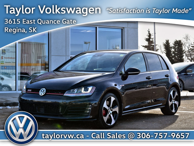 2016 Volkswagen Golf GTI 5-Dr 2.0T Performance 6sp DSG at w/Tip