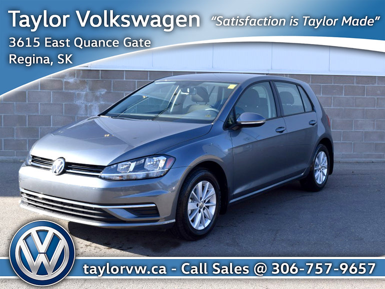 2018 Volkswagen Golf 5-Dr 1.8T Trendline 6sp at w/Tip