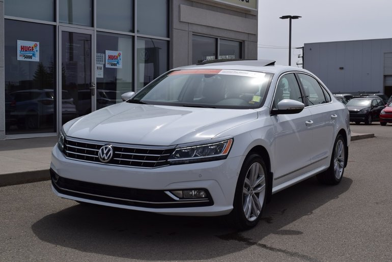2018 Volkswagen Passat Highline 3.6L VR6 6sp DSG at w/Tip