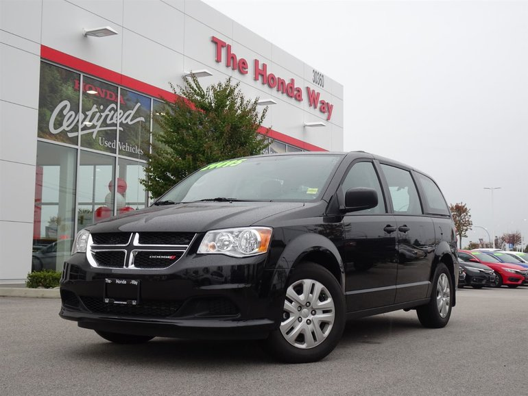 2018 Dodge Grand Caravan CANADA VALUE PACKAGE - BLUETOOTH, AUX, CD PLAYER