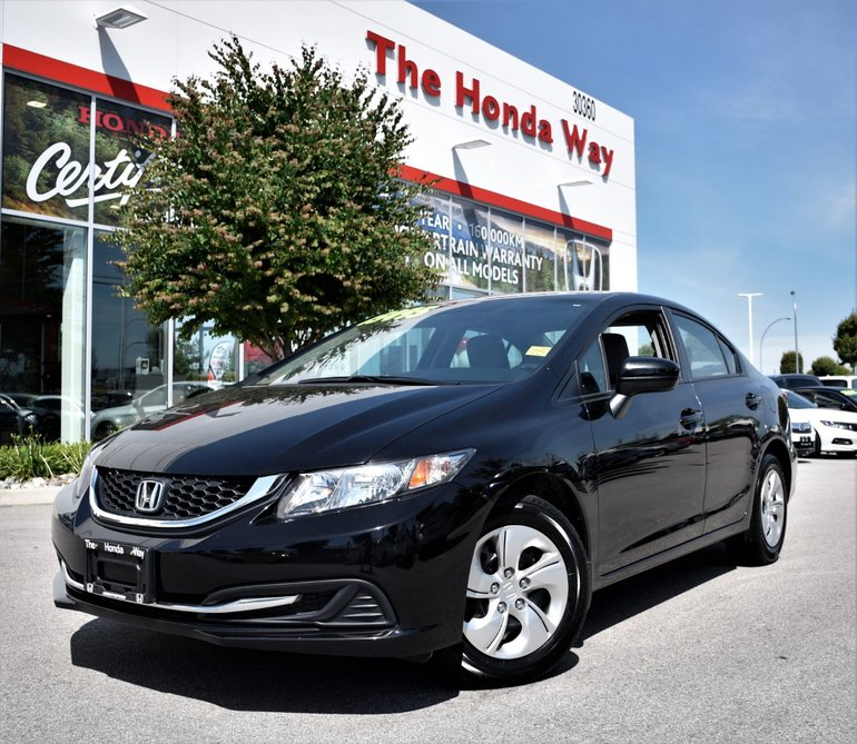 2015 Honda Civic Sedan LX - BLUETOOTH, B/U CAMERA, CRUISE CONTROL