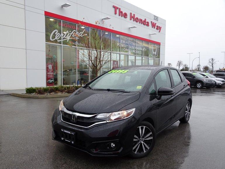 2018 Honda Fit EX-L NAVI - LEATHER, SUNROOF, B/U CAMERA,BLUETOOTH