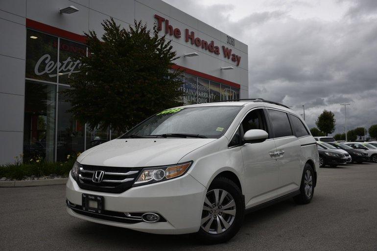 2015 Honda Odyssey EX - ROOF RACKS, BLUETOOTH, B/U CAMERA