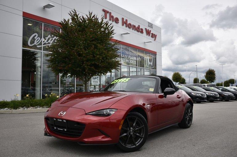 2016 Mazda MX-5 GS - BLUETOOTH, NAVI, SOFTOP, FLOOR MATS