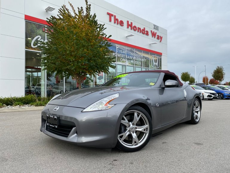 The Honda Way Used 2011 Nissan 370z Touring W Black Top Leather Bluetooth Alloys In Abbotsford