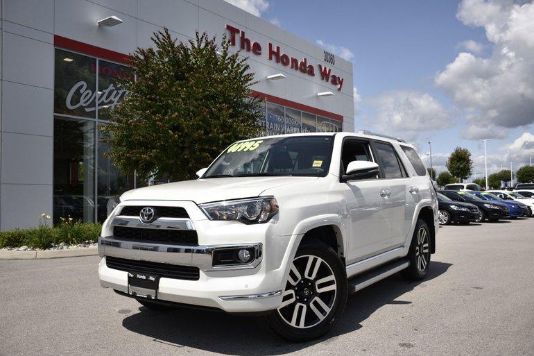 2018 Toyota 4Runner HITCH, LEATHER, NAVI, B/U CAMERA