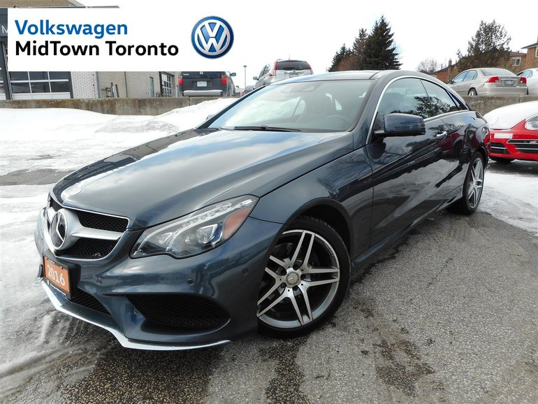 Mercedes Benz Midtown >> Used 2016 Mercedes Benz E400 E400 Graphite Gry 60 547 Km For Sale