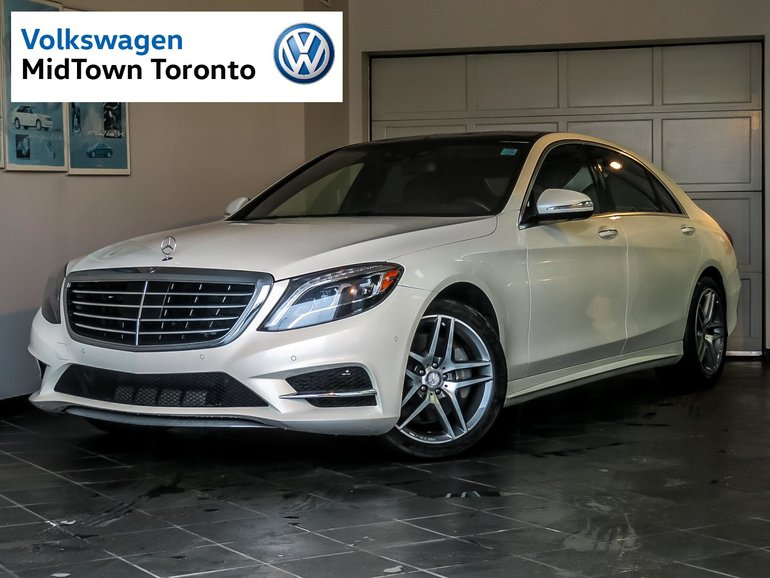 used 2014 mercedes benz s550 4matic lwb white 77 560 km. Black Bedroom Furniture Sets. Home Design Ideas