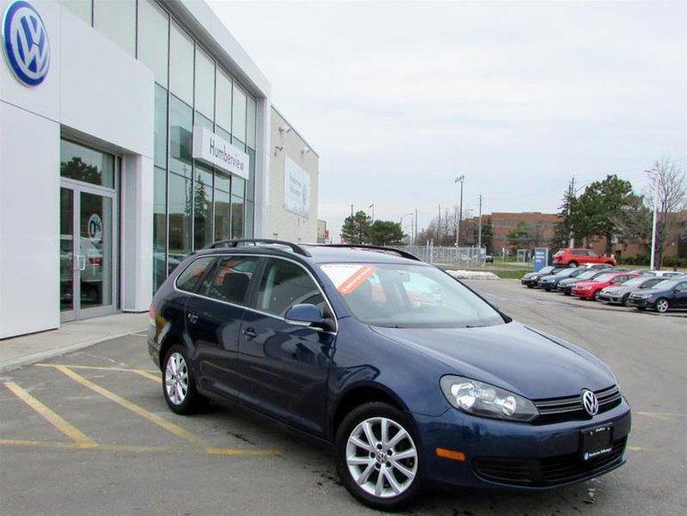 2014 Volkswagen Golf wagon Comfortline 2.5 5sp