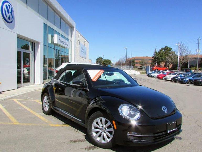 2013 Volkswagen The Beetle Convertible Comfortline 2.5L 6sp at Tip