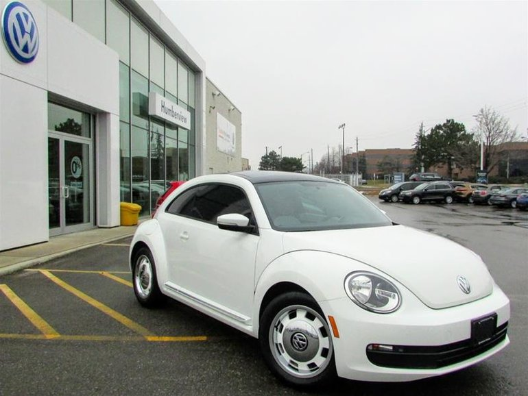25627df5acb9f3 Used 2015 Volkswagen The Beetle Classic 1.8T 6sp at w Tip Pure White ...