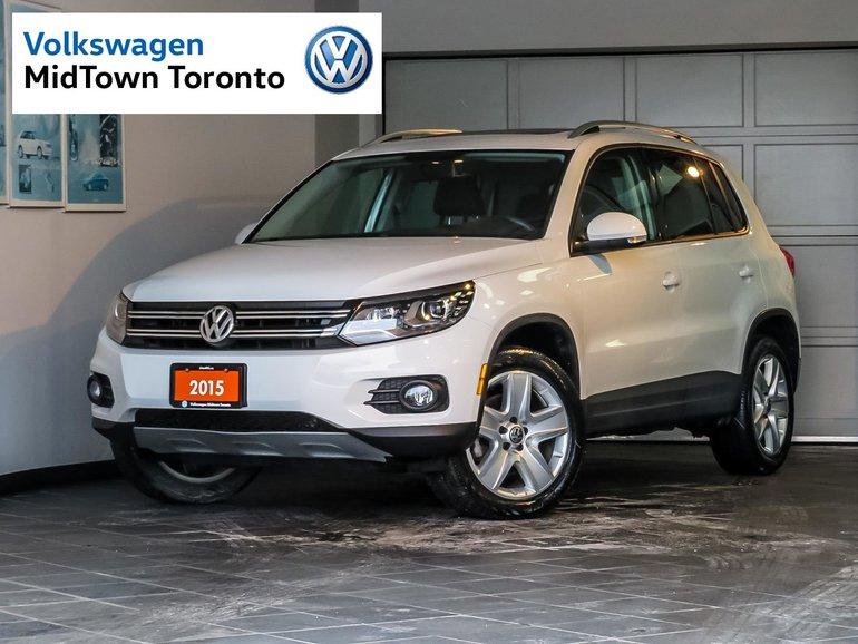 2015 Volkswagen Tiguan Comfortline FWD